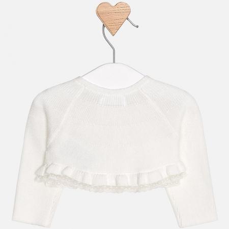 Mayoral - Bolero tricot fete crem1