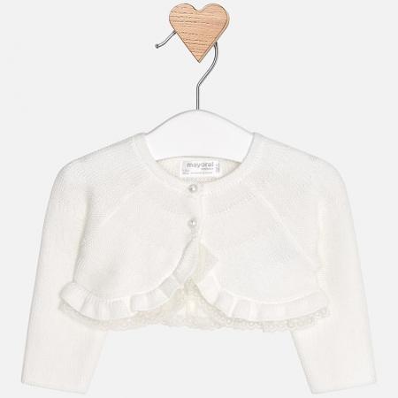 Mayoral - Bolero tricot fete crem0