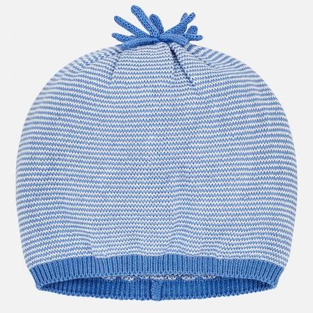 Mayoral - Caciula bebe baiat tricot, culoare blue0