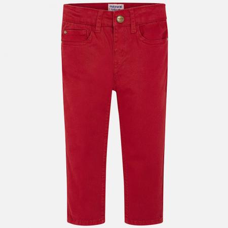 Mayoral Pantaloni baieti regular fit, rosii1