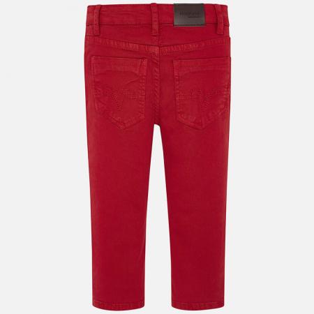 Mayoral Pantaloni baieti regular fit, rosii2