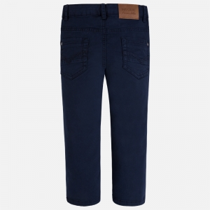 Pantalon elegant baiat Mayoral navy1