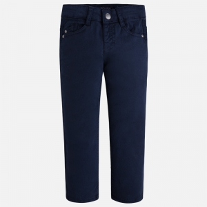 Pantalon elegant baiat Mayoral navy0