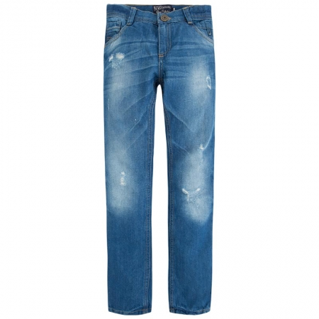 Pantalon jeans baiat, aspect uzat, Mayoral0