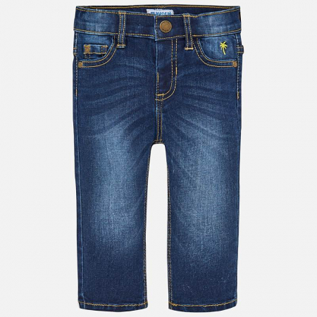 Pantalon jeans baiat ,slim fit, Mayoral0