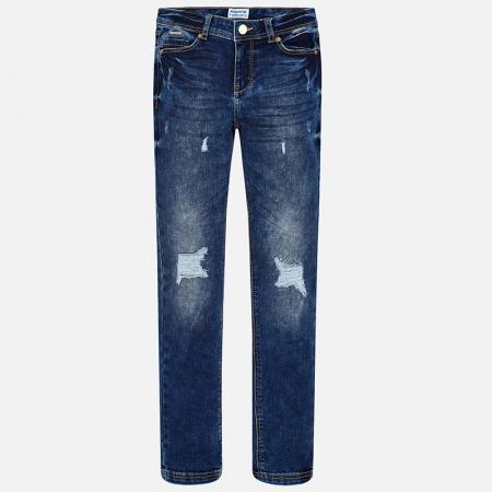 Pantalon jeans fete 8-16 ani Mayoral0