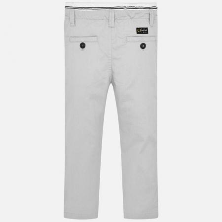 Pantalon lung baiat chino slim fit gri Mayoral [2]
