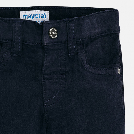 Pantalon lung bebe baiat ,super slim,bleumarin, Mayoral2