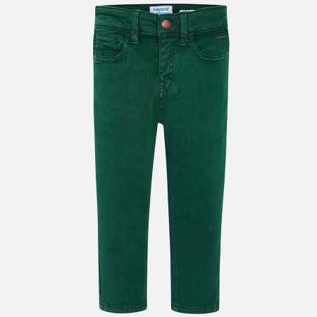 Pantalon lung canvas baiaeti, verde, Mayoral1