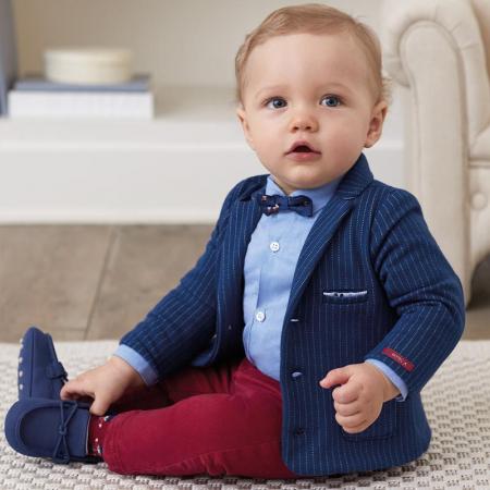 Pantalon lung captusit baiat bebe, Mayoral0