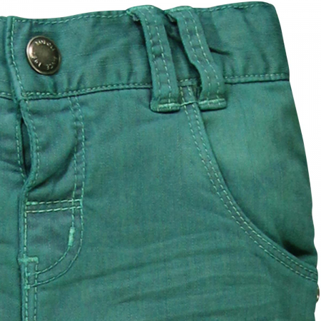 Pantalon lung captusit bebe baiat verde2