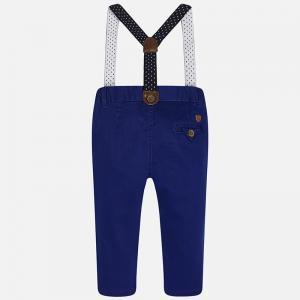 Pantalon navy cu bretele Mayoral 15251