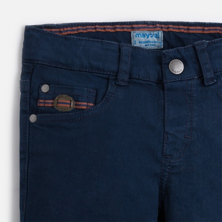 Pantalon scurt baiat navy Mayoral2
