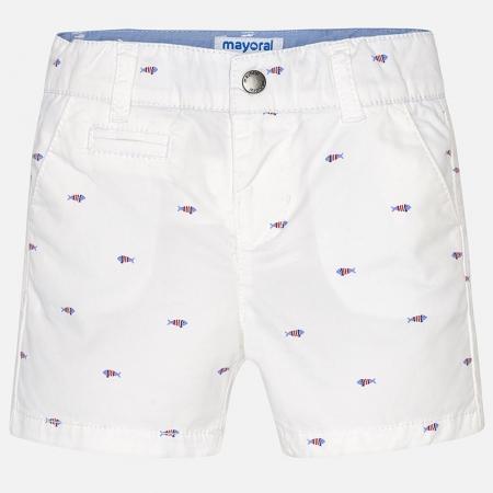Pantalon scurt cu imprimeu baiat Mayoral1