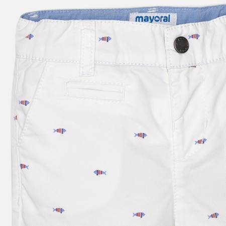 Pantalon scurt cu imprimeu baiat Mayoral2