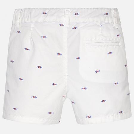 Pantalon scurt cu imprimeu baiat Mayoral0