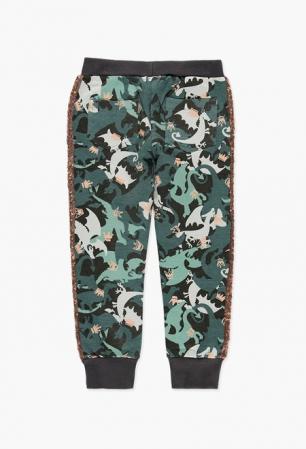 Pantalon sport fete, imprimeu camuflaj , Boboli1