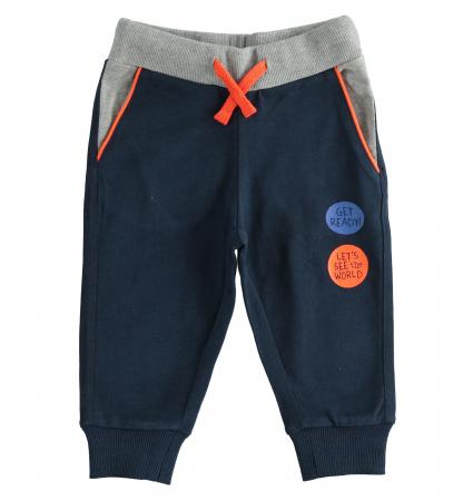 Pantalon trening baiat , navy, iDO [0]