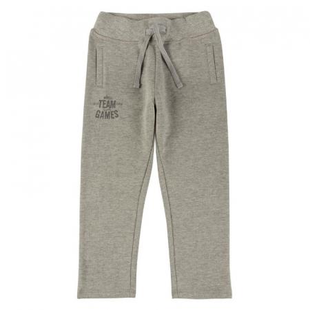 Pantalon trening baieti 8-16 ani, gri, Boboli [0]
