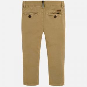 Pantaloni bej cu benzi lateral1