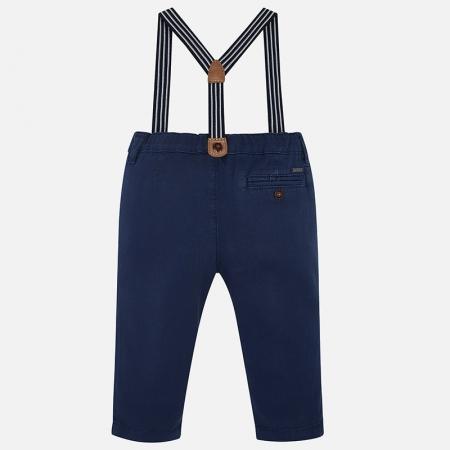 Pantaloni cu bretele baieti Mayoral1