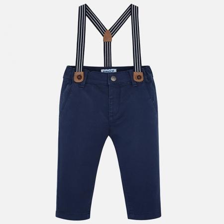 Pantaloni cu bretele baieti Mayoral0