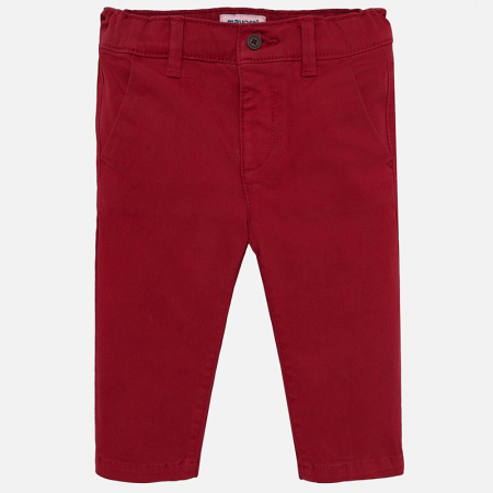 Pantaloni lungi chino basic slim fit bebe baiat0