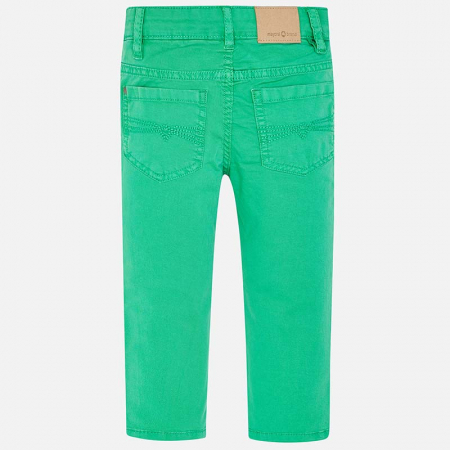 Pantaloni lungi verzi Mayoral 5091