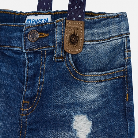 Pantaloni scurti denim , baiat,Mayoral2