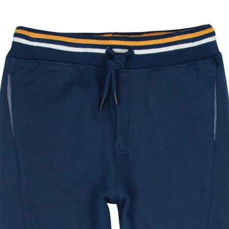 Pantaloni trening baiat 8-16 ani, navy, Boboli2