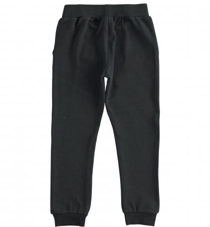 Pantaloni trening baieti, negru, iDO1