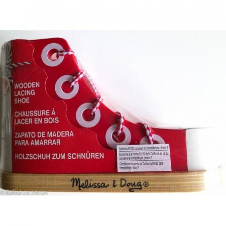 Pantof Cum Sa Legam Sireturile - MELISSA & DOUG [2]