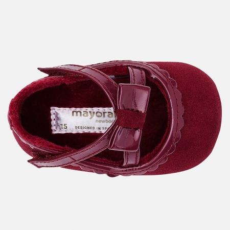 Pantofiori bebe grena, Mayoral2