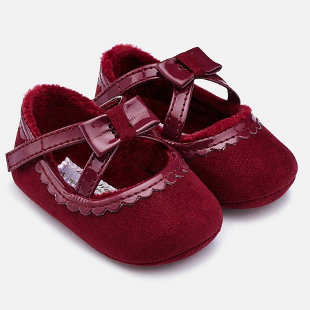 Pantofiori bebe grena, Mayoral0