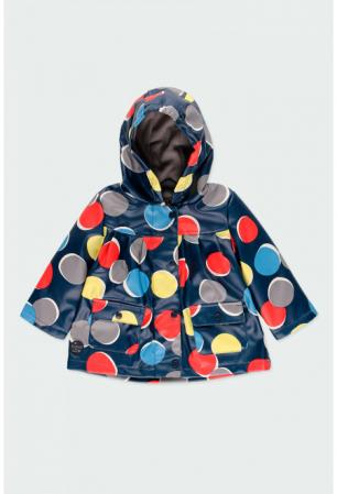 Pelerina  ploaie captusita cu fleece, imprimeu buline, Boboli0