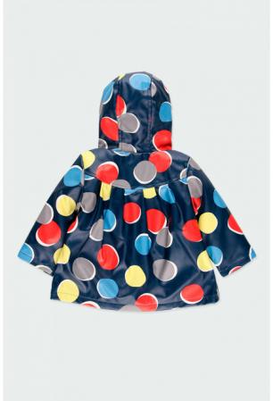 Pelerina  ploaie captusita cu fleece, imprimeu buline, Boboli1