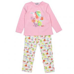 Pijama fete cu fructe Boboli0