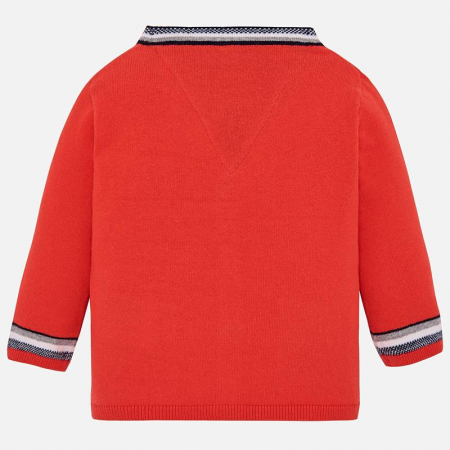 Pulover tricot baiat. orange , Mayoral1