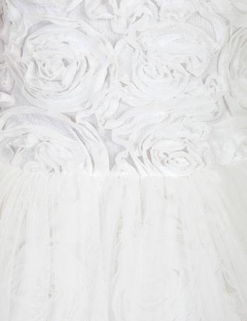 Rochie eleganta cu flori albe Abel&Lula1