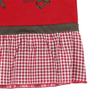 Rochie fetita cu maneca lunga, Boboli, rosie3