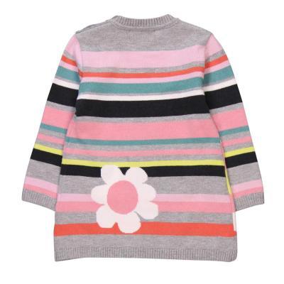 Rochie tricot cu flori Boboli1