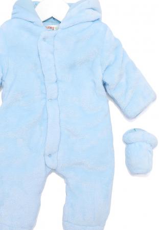 Salopeta bebe iarna vatuita blue, Babybol2