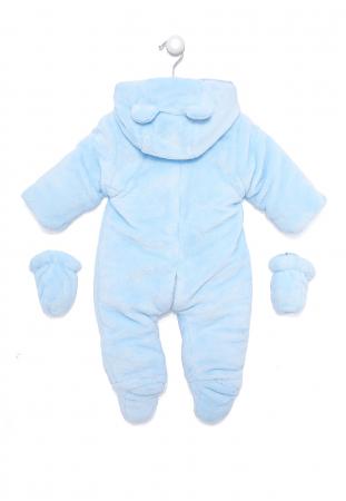 Salopeta bebe iarna vatuita blue, Babybol1