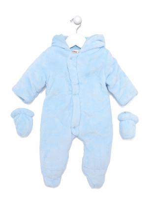 Salopeta bebe iarna vatuita blue, Babybol0