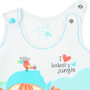Salopeta bebe , imprimeu fetita , Boboli2