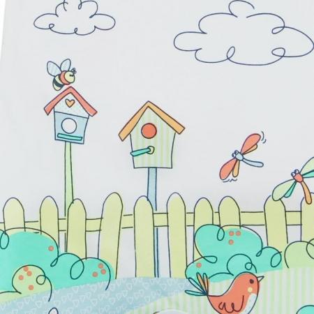 Salopeta bebe vara colorata Boboli3