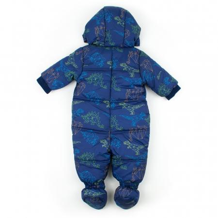 Salopeta iarna baieti Babybol bleumarin1