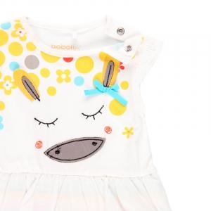 Salopeta vara bebe fetita, multicolor, Boboli3