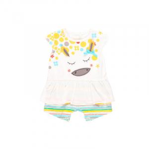Salopeta vara bebe fetita, multicolor, Boboli0