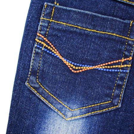 Set tricou bumbac si pantalon jeans, baiat,  Babybol Barcelona3